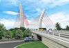 Jembatan Cable Stayed Pertama di Indonesia Ditargetkan Selesai Akhir Tahun Ini