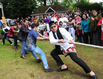 Semarak Perayaan Tujuh Belasan di London, Inggris