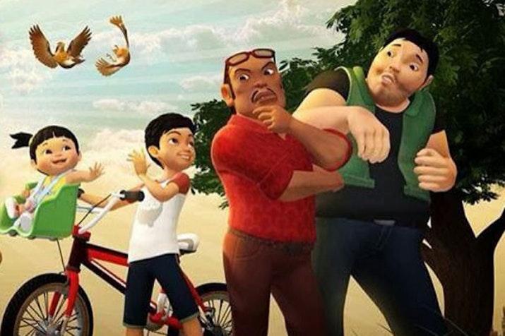 Serial-serial Animasi Asli Produksi Indonesia. Yuk Dukung!