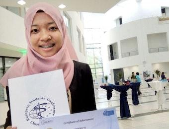 Mahasiswa UGM Raih Penghargaan dalam European Student Conference di Jerman
