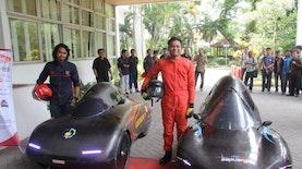 Dua Mobil Hemat Energi Karya ITS Siap Kibarkan Merah Putih di Singapura