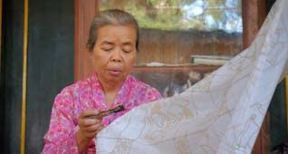 Gambar sampul Sejarah Batik Tulis Oey Soe Tjoen yang Kini di Ambang Kepunahan