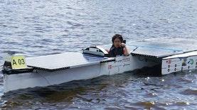 Perahu Tenaga Surya Karya UI Harumkan Nama Indonesia di Belanda