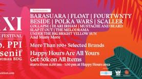 Lebih Dari 100 Brand Lokal Seluruh Indonesia Berkumpul di simPATI KickFest XI