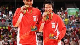 Singkirkan Malaysia, Indonesia Raih Emas Pertama Olimpiade Rio 2016 Lewat Bulutangkis