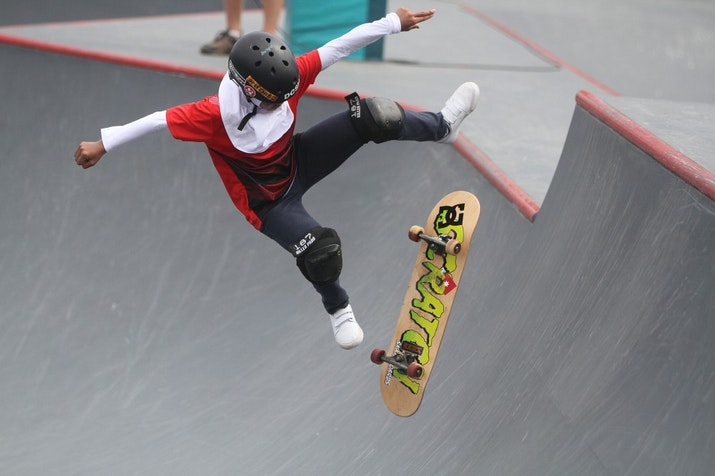 Nyimas Bunga Cinta, Atlet 12 Tahun Indonesia yang Raih Medali Cabor Skateboard