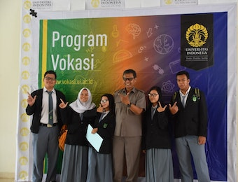 SMK YMIK Ikuti Sosialisasi Program Vokasi Universitas Indonesia