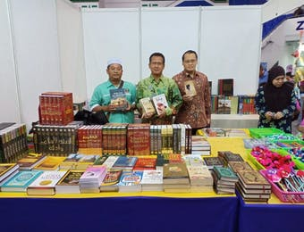 Laris Manis Buku Indonesia di Pesta Buku Brunei 2019