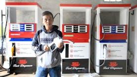 Berawal dari Penjual Bensin Eceran, Budiyanto Ciptakan SPBU Digital di Garut