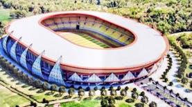 [FOTO] Stadion Papua Bangkit, Stadion Kebanggaan Baru di Timur Indonesia