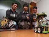 Indonesian Robots Covered in Glory in America