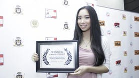 Sutradara Perempuan Termuda di Dunia asal Indonesia kembali memenangkan Penghargaan