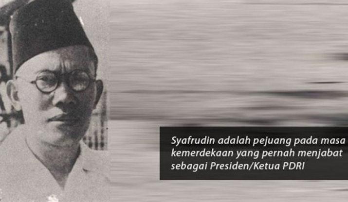 Sjafruddin Prawinegara, Presiden RI Kedua Yang Terlupakan