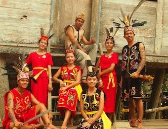 [Foto] Suku Iban Sang Penjaga Alam