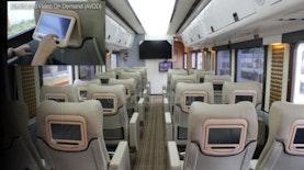 Foto : Interior Kereta-kereta Indonesia yang Mirip Cabin Pesawat Terbang Executive Class