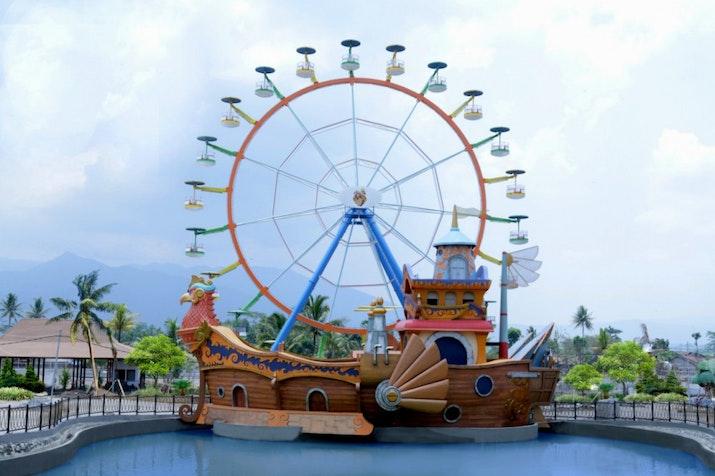 Taman Wisata Terbesar di Jawa Tengah Resmi Dibuka
