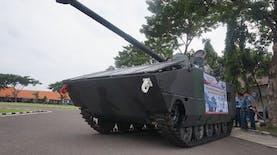 Tank Tanpa Awak Karya Lulusan Sekolah Tinggi Teknologi Angkatan Laut