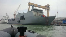 Meluncur. Kapal Perang Made in Indonesia Pesanan Filipina Dikirim