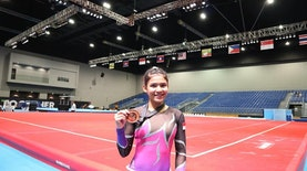 Ngobrol Seru Bersama Tazsa Miranda, Mahasiswa UNESA Peraih Perunggu Di SEA GAMES 2017