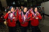 Tim Wanita U23 Arung Jeram Juarai Kompetisi Rafting Dunia 2019