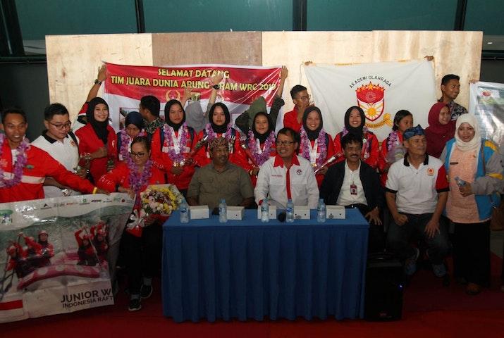 Kisah Heroik di Balik Juara Dunia Tim U-23 Arung Jeram Indonesia