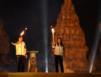 Torch Relay Asian Games 2018, Jadikan Promosi Wisata Indonesia.