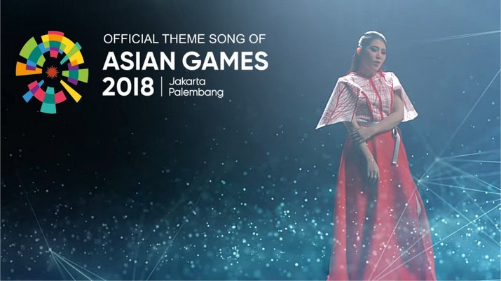 Inilah Official Theme Song Asian Games 2018!