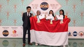 6 Emas Diraih Indonesia di World Championship Memory