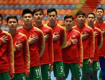 Timnas Futsal Indonesia Lolos ke Semifinal Piala Asia U-20 2019