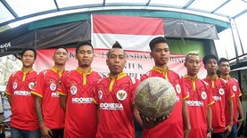 Timnas Indonesia Taklukkan Homeless World Cup 2015 di Amsterdam