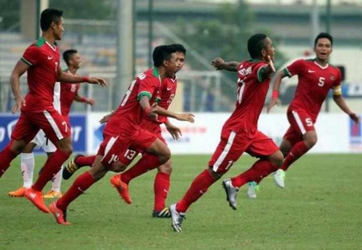 Indonesia Pimpin 3-0 Atas Laos di Pertandingan Piala AFF 2016