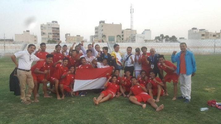 Tumbangkan Malaysia, Timnas Pelajar U-18 Melaju Ke Final, Ini Lawannya
