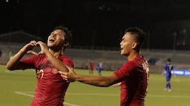 Osvaldo Haay Top Skor Sementara di SEA Games 2019