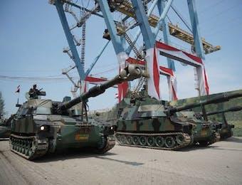 Photo dan Video: Yuk Intip Persiapan Jelang Hut ke-72 TNI
