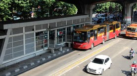 Rute Pertama Transjakarta di Area Ini