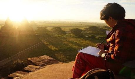 Tips Jalan-jalan Menyenangkan: Travel Sketching