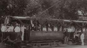 Sejarah Hari Ini (10 April 1899) - Trem Listrik di Batavia Diresmikan