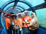 Tunnel Aquarium Pulau Putri | Wisata Pulau Seribu