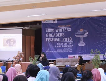 Ubud Writers and Readers Festival Hadir di Surabaya Berikan Pelatihan untuk Penulis Pemula