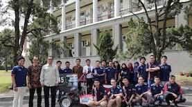 Internasional Robot Contest 2018, UGM Boyong 2 Gelar Juara