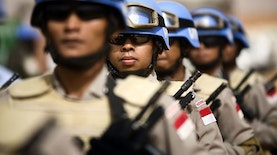"Pasukan Indonesia Kokohkan Gelar ""the Best Guardian Of Peace In South East Asia"""