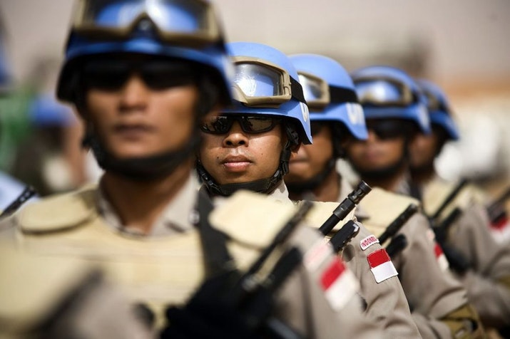 """Pasukan Indonesia Kokohkan Gelar """"the Best Guardian Of Peace In South East Asia"""""""