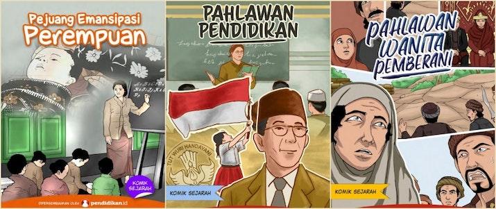 Belajar Sejarah di Komik Pahlawan Nasional