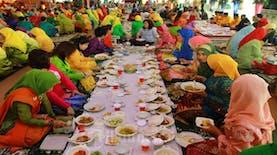 Saprahan Budaya Makan Ala Pontianak