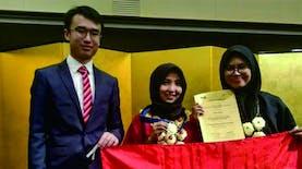 bermodal kulit jeruk, mahasiswa Indonesia sabet medali emas di jepang
