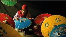 Payung Geulis Simbol Mojang Tasikmalaya