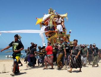 Ritual Upacara Ngaben Hindu-Bali