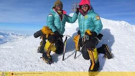 Dua Perempuan Indonesia Pendaki Puncak Antartika Pertama Siap Kembali Ke Tanah Air