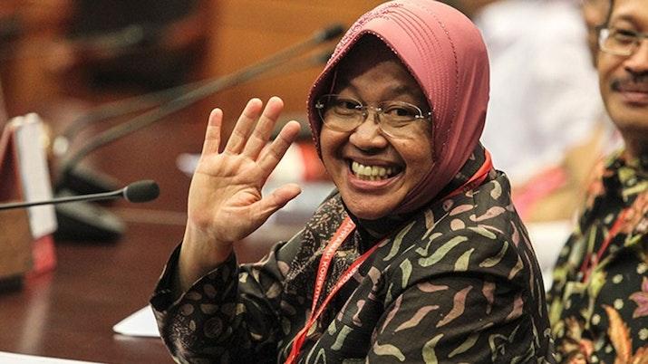 Walikota Risma Raih Penghargaan di Singapura