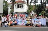 AIESEC dan Pemuda Surabaya Suarakan Komitmen untuk Dunia